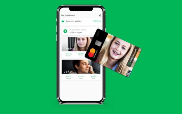 Greenlight debit card and mobile app