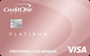 Credit One Bank® Platinum Rewards Visa with No Annual Fee