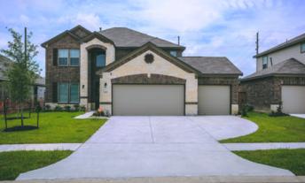 Photo of big suburban home