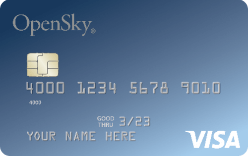 OpenSky® Secured Visa® Credit Card